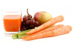 Healthy with Fruit and Vegetable Juice