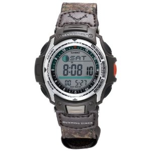 Pathfinder Moon Phase Hunting Timer Watch by Casio