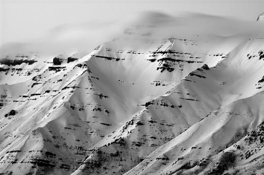 Winter on Mt. Timpanogos