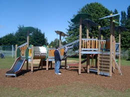 Play area for the slightly older Children