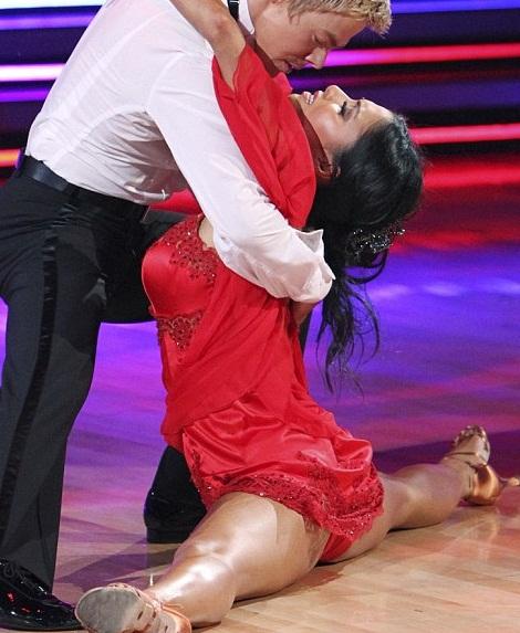 Dancing on stars winner Nicole Scherzinger