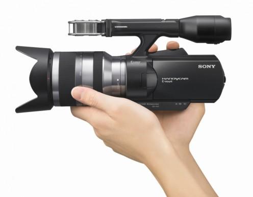 NEX-VG10 Handycam - Hand Held