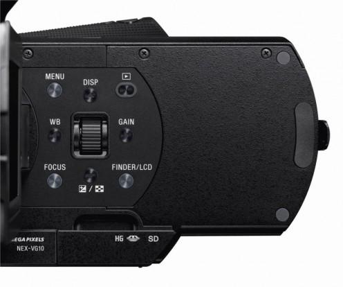 NEX-VG10 Handycam - Terminal