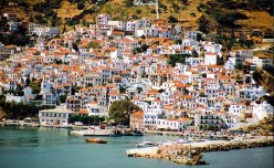 Skopelos In the Greek Islands