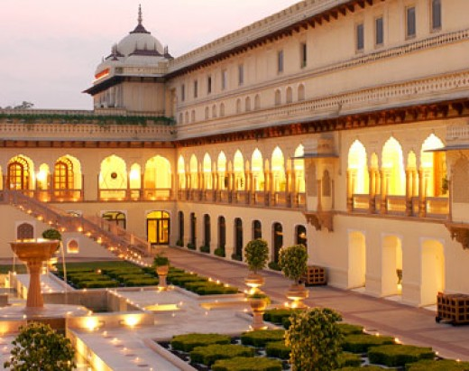 Hotel Rambagh Palace in Jaipur