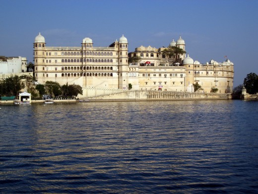 Taj Lake Palace In Udaipur is located on Lake Pichola