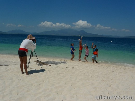 Pandan Island is a favorite spot for jumpshots like this!