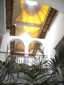 The Patio is the heart of San Juan