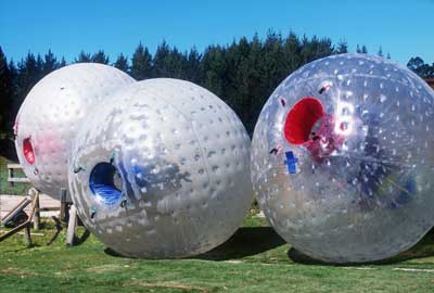 My wife clicked shots while I was inside downhill Zorbing Ball in Solang Valley. I love adventure.