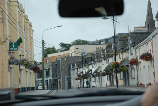 Driving in towns...new every day in Ireland!