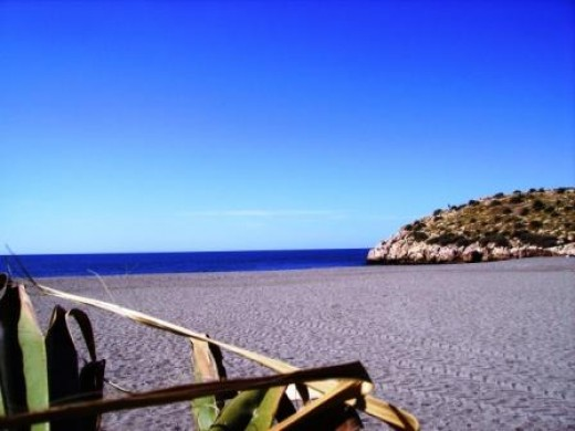 Salobrena Beach. This is where your brain can take five.