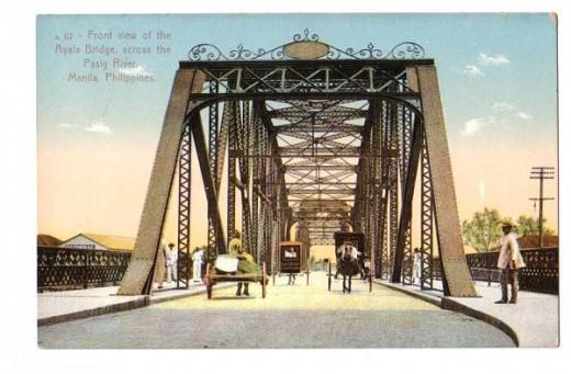 Puente de Convalecencia as it was in Old Manila