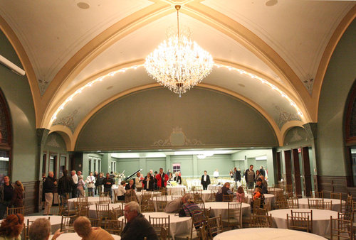 The ballroom, now a banquet room/conference center
