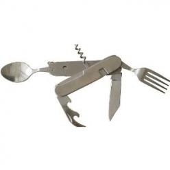 "SE 6-1 Camping S. Steel Detachable Knife 4"" Body"