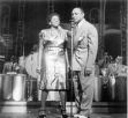 Lionel Hampton and Dinah Shore