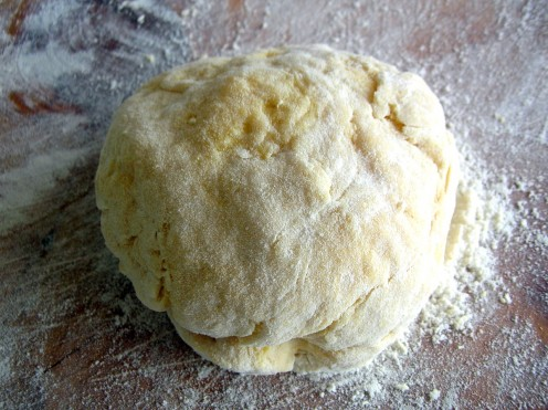 Knead into a ball and let rest