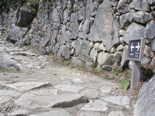 You can see the marvelous Inca architecture while hiking the Inca Trail to Machu Picchu