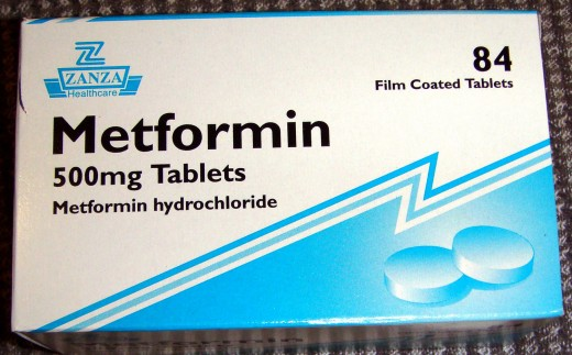 Metformin, a biguanide, mostly used for the treatment of overweight or obese patients with Diabetes.