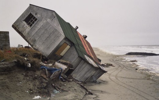 Melting permafrost and coastal erosion can ruin your whole day.