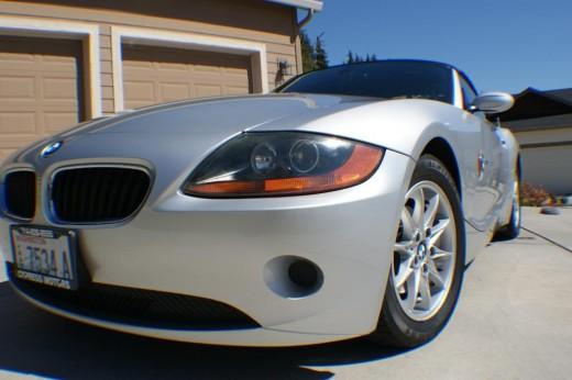 The 2004 BMW Z4
