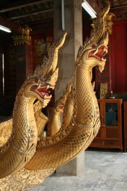 Naga carvings