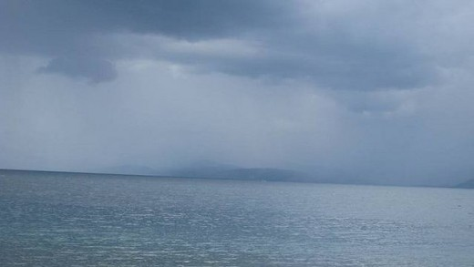 Cloudy sky over Sarangani Bay taken @ Rajah Muda