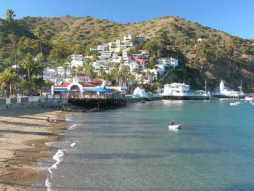 Avalon, on Catalina Island