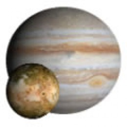 Jupiter's 4 biggest moons are named Europa, Ganymede, Callisto and Io.