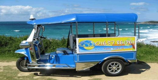 Newquay Tuk Tuk.   Photo by: NewquayTukTuk
