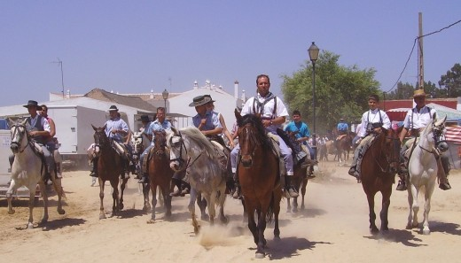 El Rocio Festival & Pilgrimage is visited by more than 1 million people
