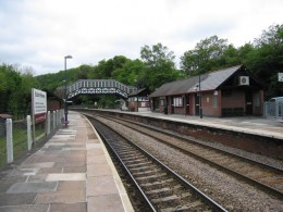 Bodmin Parkway Railway Station, Cornwall