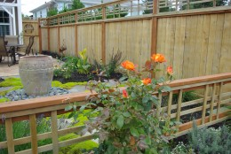 A Garden Fence should display  your gardening skills while setting a boundary