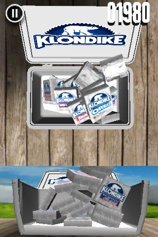 Klondike Stacker Game Putting Ice Cream Away
