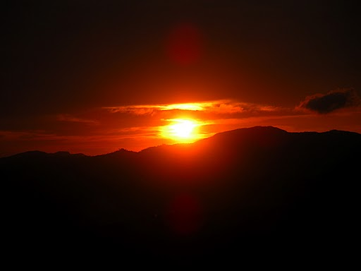 Sunset in Lansdowne