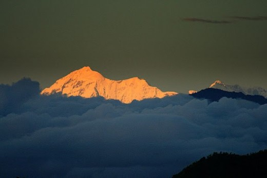 Trishul Mountains near Lansdowne