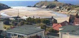 Cam 1: Porth Beach webcam