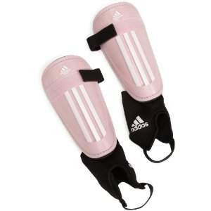 Adidas Adi Club Diva/White Girls or Womens Shin Guards Pic from Amazon