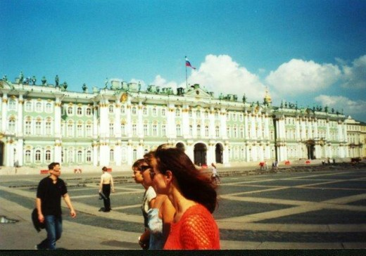 Winter Palace in St. Petersburg (-), Russia