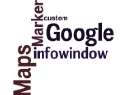 Google Maps Infowindow Wordle by Humagaia