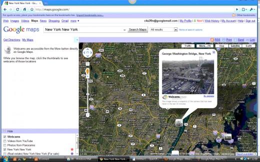 Google Maps Infowindow for Webcam Marker