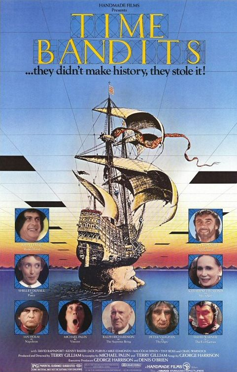 Terry Gilliam Strikes Again in this masterpiece of children's science fiction.