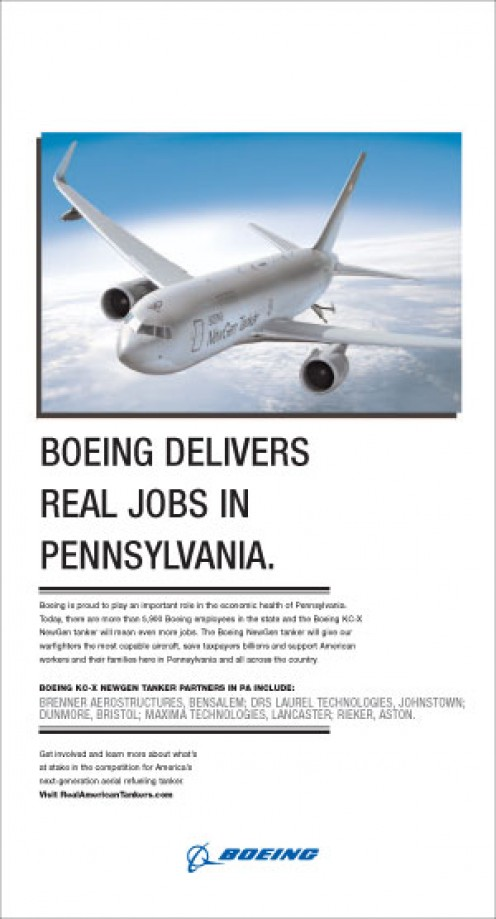Boeing Delivers Real Jobs in Pennsylvania