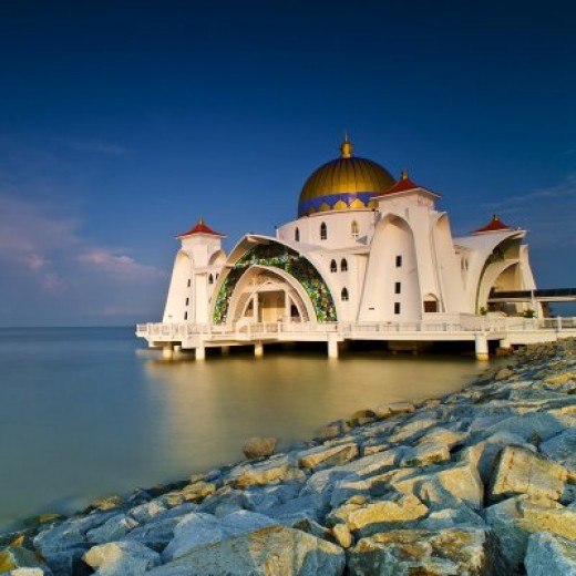 Malacca Straits Mosque ( or Mosque Selat)