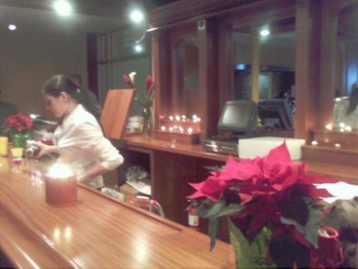 The Bar at The Rib Bar.