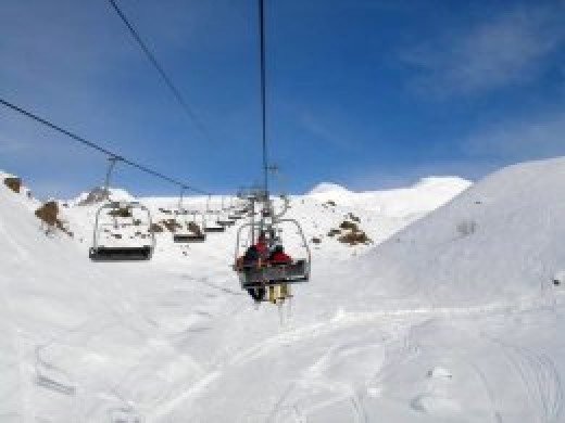Bakuriani winter resort, Georgia.