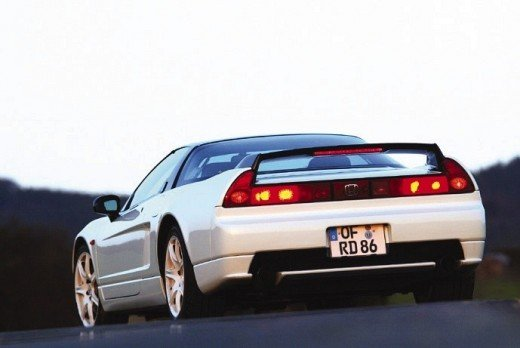 Rear of the Honda NSX-R