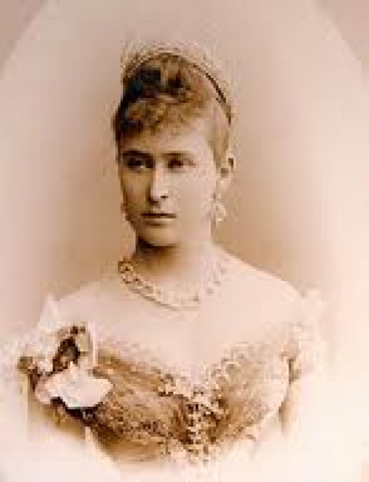 Grand Duchess Elizabeth. Her death was a stain on the soul of Lenin.