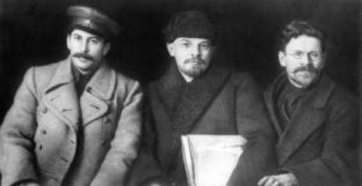 Lenin and friends. Where are they now that death has claimed their bodies?