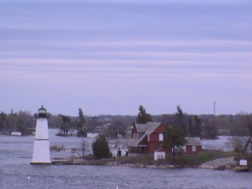 The LightHouse in Thousand Islands