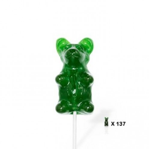 Giant Gummy Bear On Stick